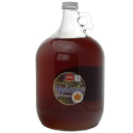 Maple Hollow Maple Syrup One Gallon Glass 128 oz.