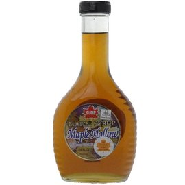 Maple Hollow Maple Syrup One Pint Glass 16 oz.