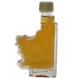 Maple Hollow Maple Syrup Half Leaf 3.4 oz.
