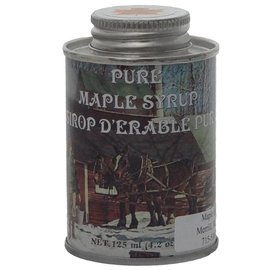 Maple Hollow Maple Syrup Round Tin 4 oz.