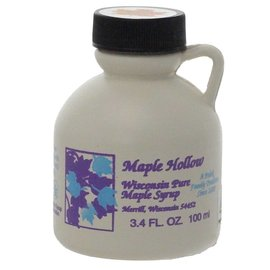 Maple Hollow Maple Syrup Plastic 3.4 oz.