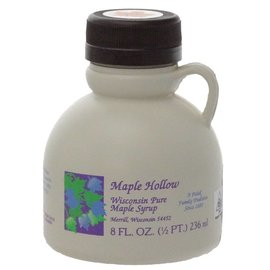 Maple Hollow Maple Syrup Half Pint Plastic 8 oz.