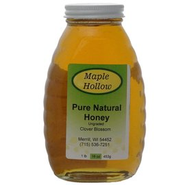 Maple Hollow Honey Clover Blossom Glass 16 oz.