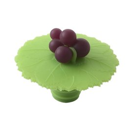 Charles Viancin Bottle Stopper, Grapes