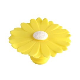 Charles Viancin Bottle Stopper, Yellow Daisy