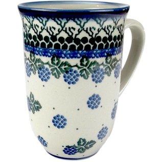 Ceramika Artystyczna Bistro Cup Blackberry Vineyard