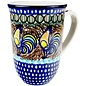 Ceramika Artystyczna Bistro Cup Sienna Rooster C Signature