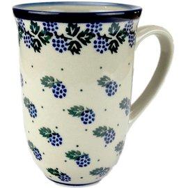 Ceramika Artystyczna Bistro Cup Blackberry