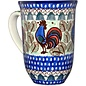 Ceramika Artystyczna Bistro Cup Rooster (Chanticleer) Signature