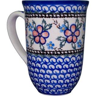 Ceramika Artystyczna Bistro Cup Apple Blossom Pink