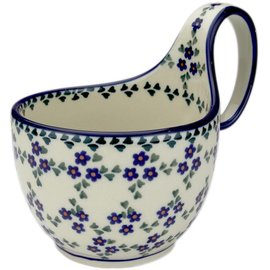 Ceramika Artystyczna Soup Cup Forget Me Not