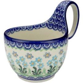 Ceramika Artystyczna Soup Cup Poppy Garden