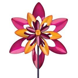 Regal Art & Gift Fuchsia Blend Starflower Yard Stake
