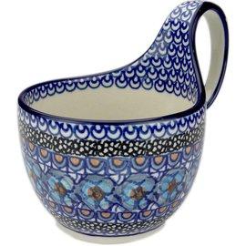 Ceramika Artystyczna Soup Cup Cottage Blue Signature