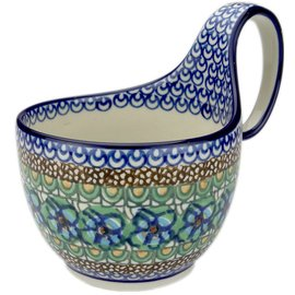 Ceramika Artystyczna Soup Cup Cottage Green Signature 3.5