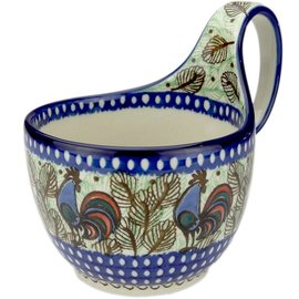 Ceramika Artystyczna Soup Cup Rooster (Chanticleer) Signature