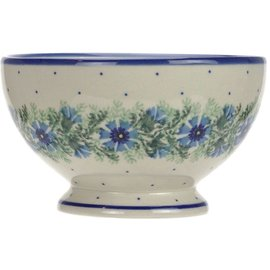 Ceramika Artystyczna Pedestal Bowl Size 1 Carnation
