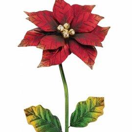 Regal Art & Gift Poinsettia Stake SM