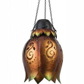 Regal Art & Gift Wireless Flower Lantern - Bronze