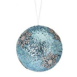Glittery Snowflake Ornament