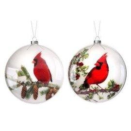 Cardinal Disc Ornament