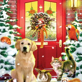 Puzzles Christmas Welcome