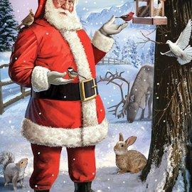 Puzzle Santa's Little Friends