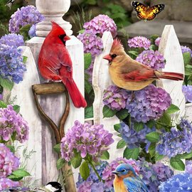 Puzzle Cardinals & Friends