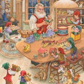 Puzzles Santas Toy Shop