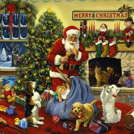 Santa's Beggars Puzzle