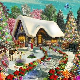 Puzzle Snowy Delight