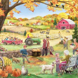 Puzzle Countryside Autumn