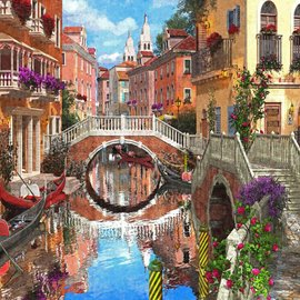 Puzzle Venetian Waterway