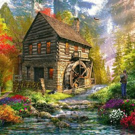 Puzzle Mill Cottage Jigsaw