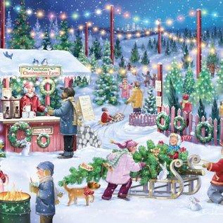 Puzzle Christmas Tree Farm