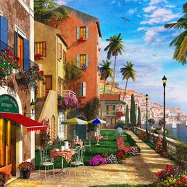 Puzzle Mediterranean Terrace