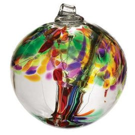 "Kitras Art Glass Handmade Tree 2"" – Life"