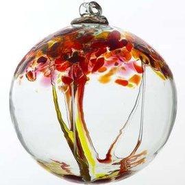 "Kitras Art Glass Handmade Tree 2"" Passion"