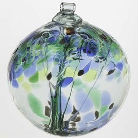 "Kitras Art Glass Handmade Tree 6"" Encouragement"