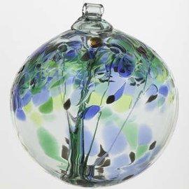 """Kitras Art Glass Handmade Tree 6"""" Encouragement"""