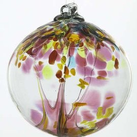 "Kitras Art Glass Handmade Tree 6"" Motherhood"