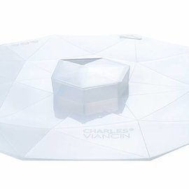 Charles Viancin Crystal - Lid 8'' (Clear)