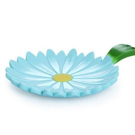 Charles Viancin Daisy Teal Tea Saucer/Spoon rest