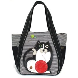 Chala Carryall Zip Tote Fat Cat