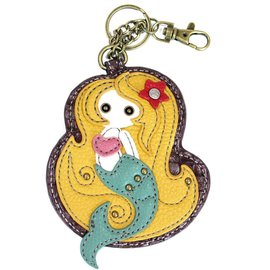 Chala Coin Purse Key Fob Mermaid