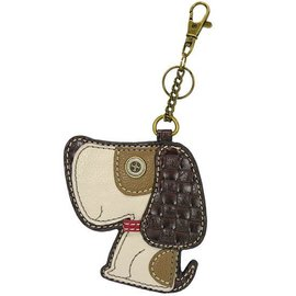Chala Coin Purse Key Fob Dog