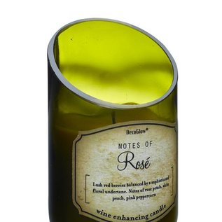 Decobreeze Candle -Wine Bottle Rose