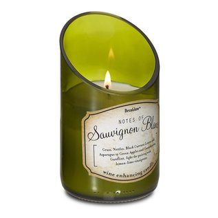 Decobreeze Candle -Wine Bottle Sauvignon Blanc