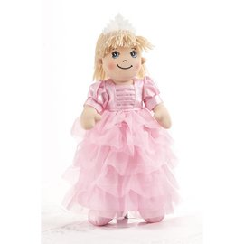 Delton Products Corporation Softie Apple Dumpling Doll Pink Princess