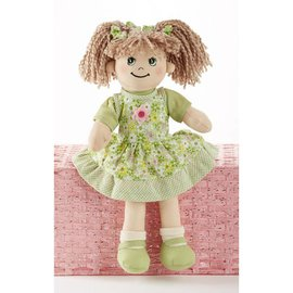 Delton Products Corporation Softie Apple Dumpling Doll Green